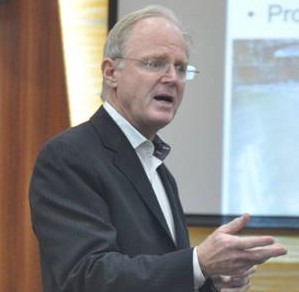 Professor William Fisher from Harvard Law School Delivered a Lecture named 'International Intellectual Property Law'